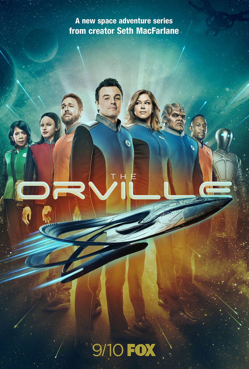 The Orville Show Poster 3D Scanning The Scan Truck