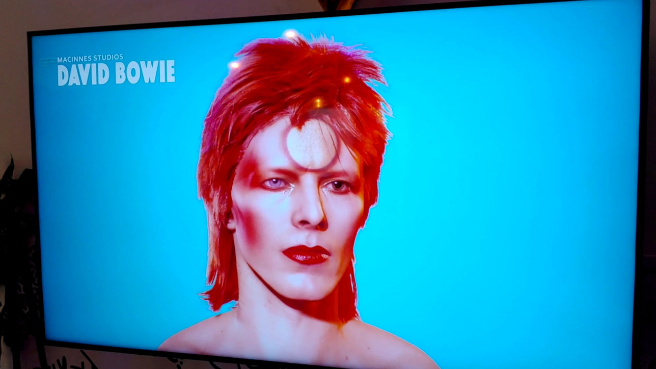 David Bowie Digital Human Demo By John MacInnes at The Scan Truck Studio